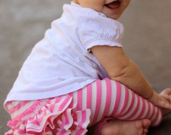 Leggings Pattern Baby & Toddler Sizes 0-12 months and 1-6 years