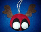 Deadpool christmas ornament