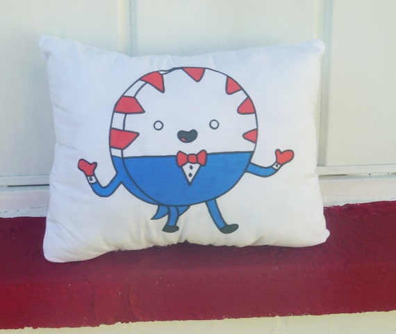 Adventure Time Plush Pillow Peppermint Butler