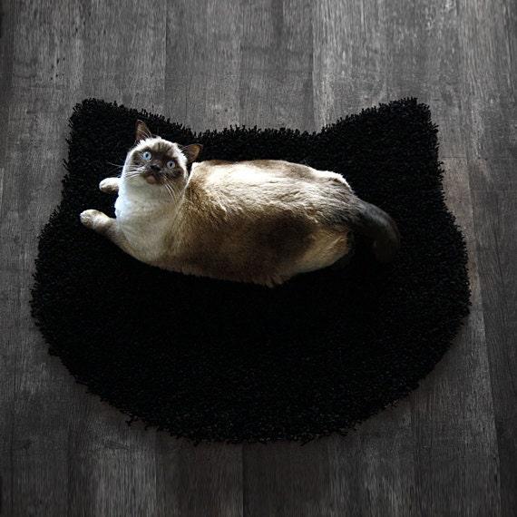 Items Similar To Fluffy Black Carpet