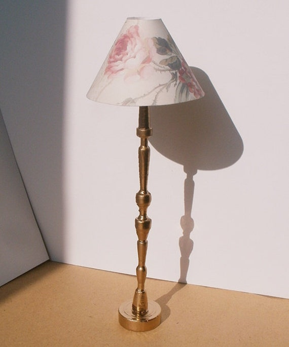 Floor Lamp miniature dollhouse 1/12 by MyHandmadeDreams on ...