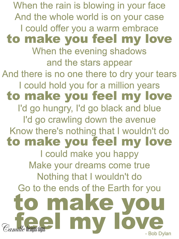 i feel for you lyrics