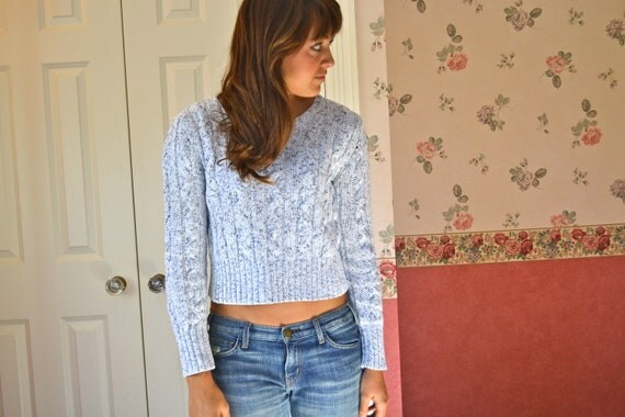 vintage 90s grunge hipster calvin klein grey soft comfy fall sweater