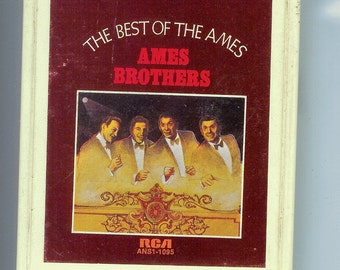 8 Track tape The Best of the AMES BROTHERS with Hugo Winterhalter and his Orchestra