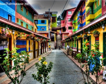 The Colors of Guatapé - 8x12 HDR Print