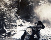 8 x 10 Ghost At A Picnic Photograph - GrandmasCellar