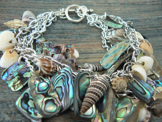resort wear abalone bracelet  mermaid bracelet seashells cruise wear beach wear summer mermaids resort gypsy boho hippie style