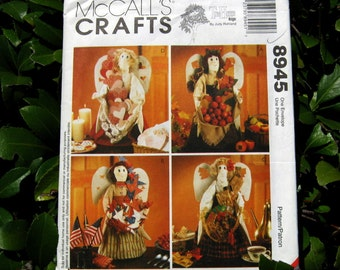 "Uncut Pattern - McCalls 8945 - 20"" Angels for all Seasons"
