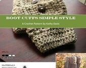 Crochet Pattern-Boot Cuff- Simple Style
