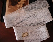 Vintage Alencon Lace Trim Made in France Over 1 Yard