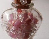 Unique Hand-Crafted Beaded Candy for the Cure- Set of 12 Medium - Concept Created By Germaine G. Egrie