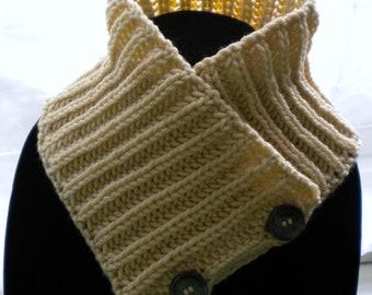 Knit SCARFLETTE /NECK WARMER Pattern -Brioche Crisscross