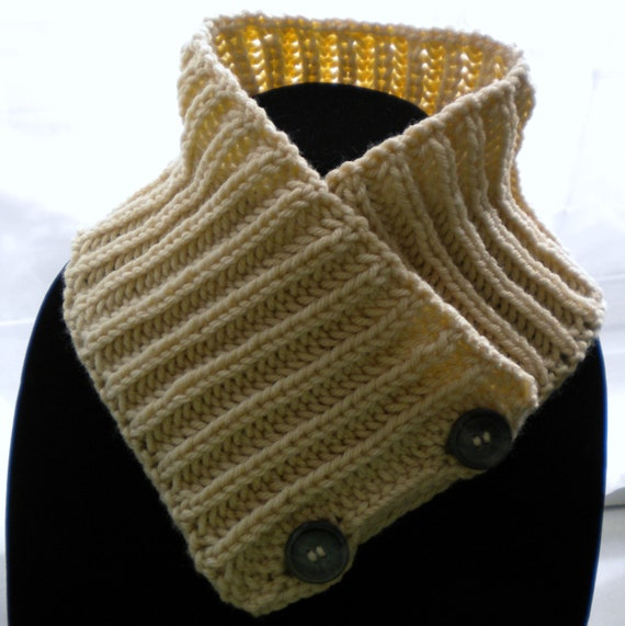 Knitted SCARFLETTE /NECK WARMER Pattern by PrimrosePatterns