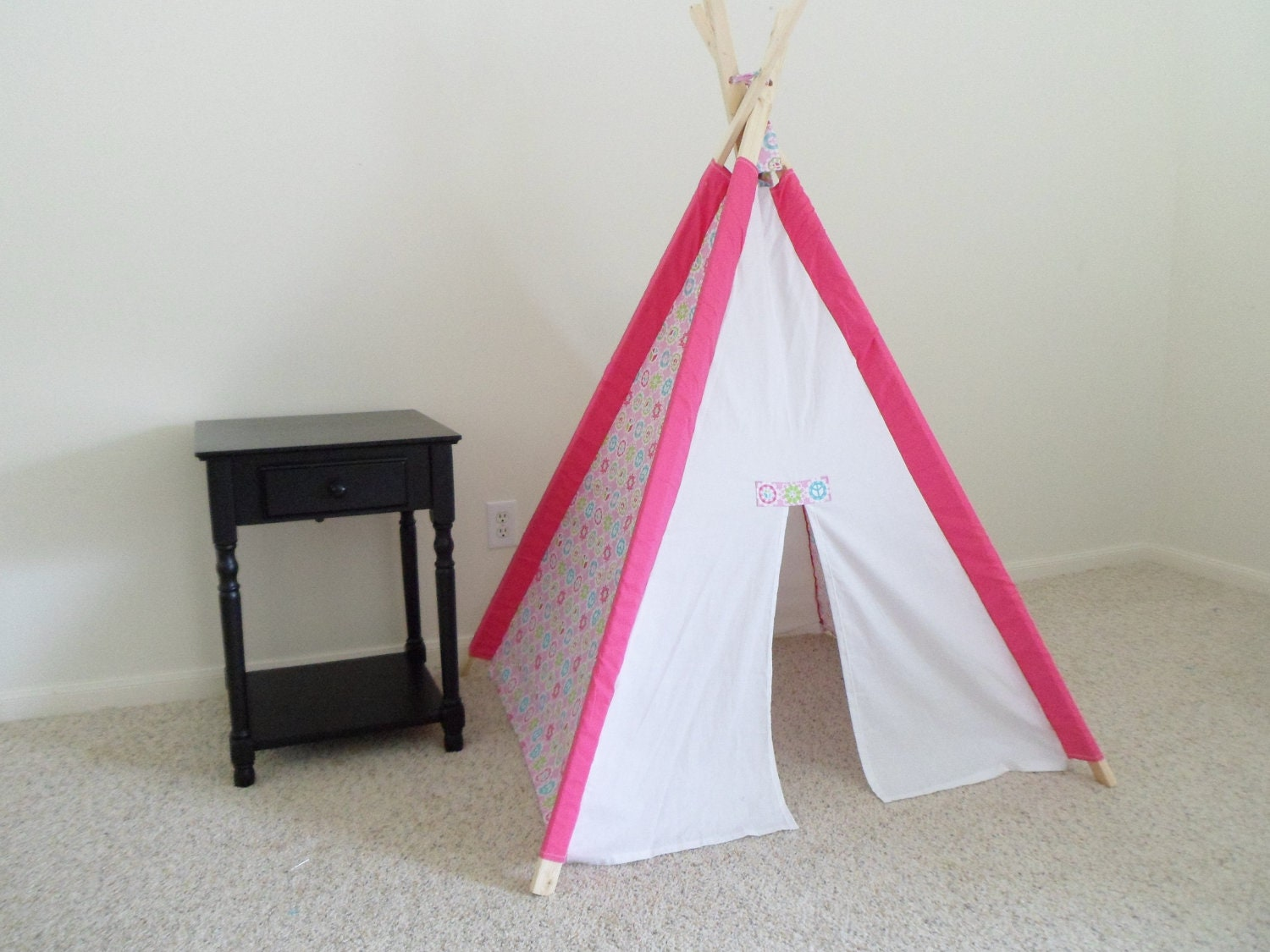 Indoor Teepee Peace Sign Kids Tent Children 39 S Tent Kids