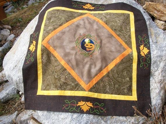Samhain Altar Cloth  for Halloween