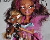OOAK Monster High Minerva Toro and Butterscotch