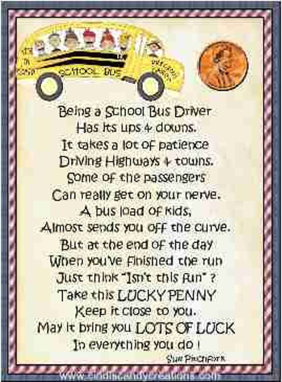 School Bus Driver Lucky Penny