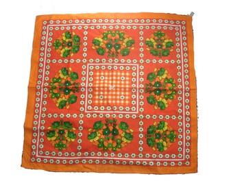 70s table cloth vintage