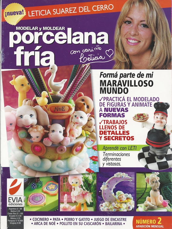 Cold Porcelain magazine 2 2010 by Leticia Suarez por AmGiftShoP