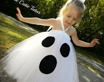 Ghost Costume Tutu Dress NB-10