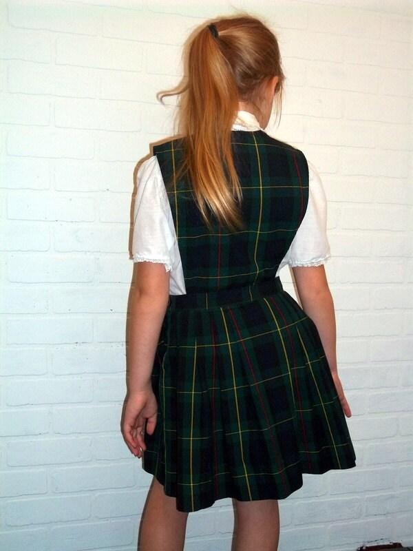 Vintage Schoolbelles Girls School Uniform Size 7