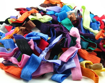 Hair Tie Grab Bag.Hair Ties.Elastic Hair Ties.Foe Hair Tie.No Crease Hair Tie.Hair Bands.Elastic Hair Bands.Elastic Bracelet.Ponytail Holder
