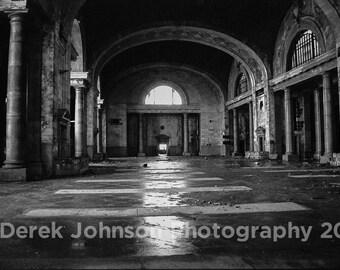 MCRR Interior-- Michigan Central Station, Detroit
