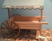 """1"""" Scale Kit for Peddler's Cart With Stool"""