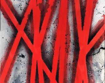 Ties that bind / Acrylic Painting