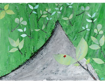 Ladybug - Original Art - Painting
