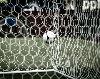 Soccer Goal - Photography --  8x12