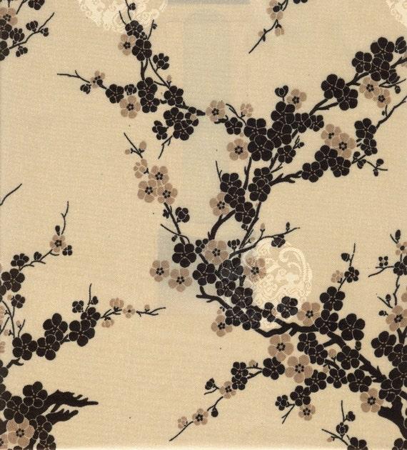 Cherry Blossom Fabric - 3/4 Yard