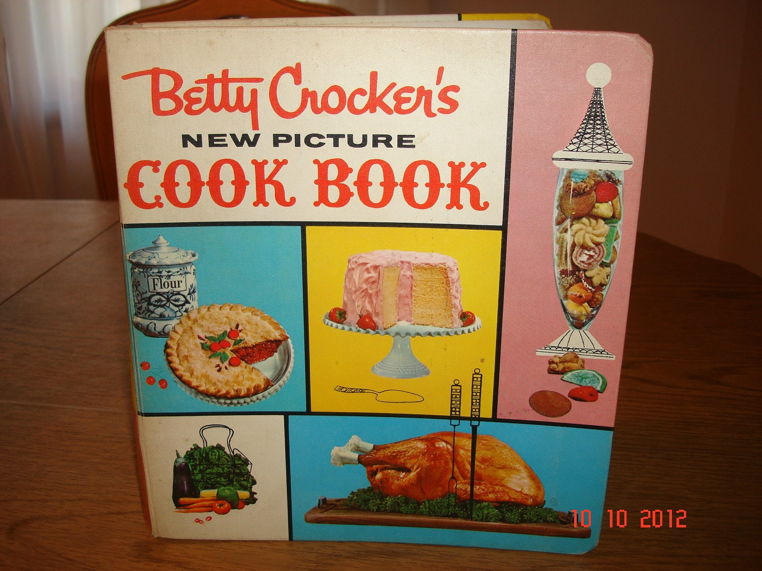 1st Edition Better Homes and Gardens New Cookbook 1953 Sixth Printing - Rare