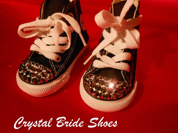 CONVERSE Toddler Walking Shoes size 2 by CrystalBrideShoes