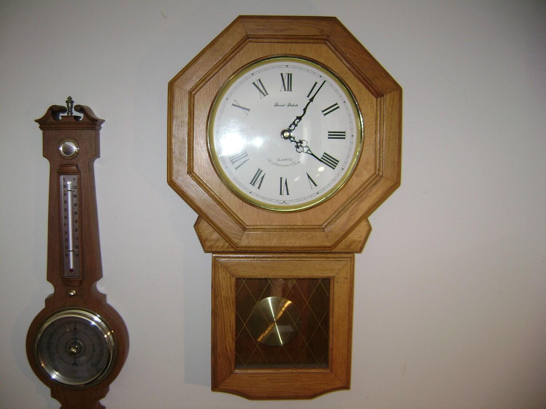 Items Similar To Vintage Daniel Dakota Regulator Clock
