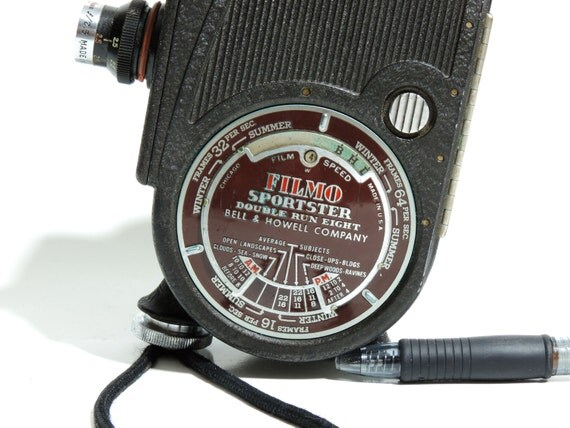 Filmo 8mm Video Camera by Bell & Howell