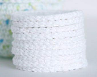 Face Scrubbies Crochet Wash Cloth Crochet Scrubby Rounds Refil Replacement Pads