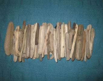 Small 25 driftwood pieces , Bulk Driftwood pieces for drift wood frames, driftwood mirror,driftwood crafts, small driftwood
