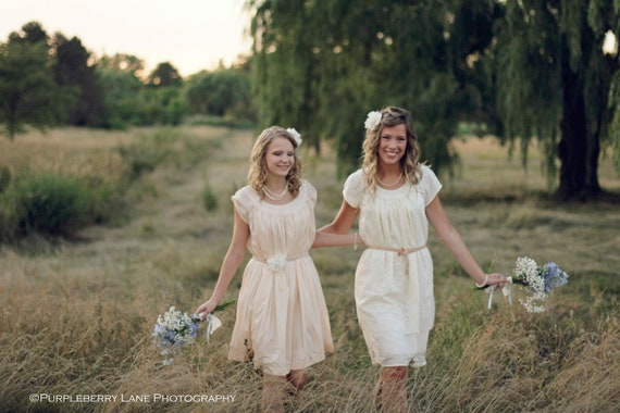 Gwen and Glorie - Belted and gathered waist dresses    Josie - Sleeveless, zipper closure, gathered waist dresses