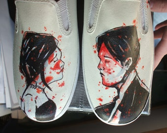 My Chemical Romance Shoes Revenge Style