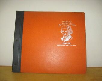 JUST REDUCED 78 Record Set - Haydn