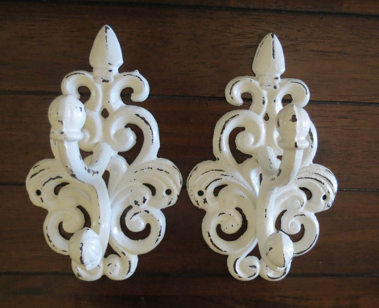 cast iron hook set bathroom hooks coat towel hat hooks. Black Bedroom Furniture Sets. Home Design Ideas