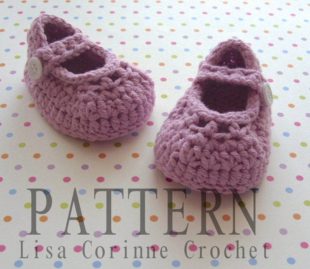 Crochet Pattern For A Baby Jacket : Crochet Baby Booties PATTERN Crochet Baby by ...