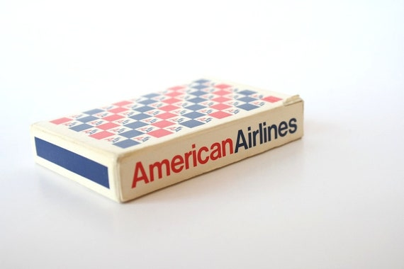 Playing Cards, American Airlines, Deck of Cards, Packaging Design, Vintage Graphic Design