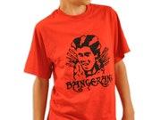 Bangerang Rufio Tshirt - Red - S,M,L