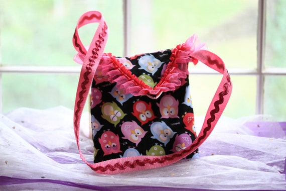 Owl Messenger Purse