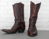 Men's Size 9 Brown Cowboy Boots