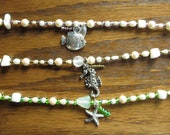 Beachy Anklet with Charms set 2