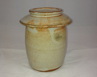 Shino Lidded Jar