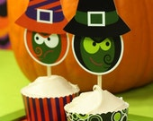 SPOOKED PUMPKIN Party PRINTABLE Halloween Collection from The Celebration Shoppe